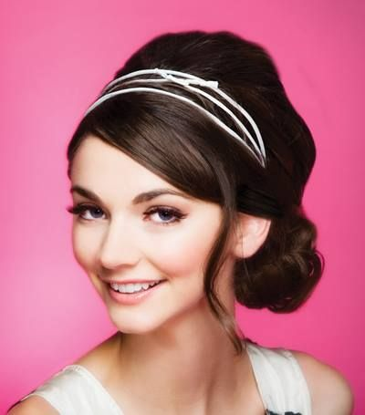 The ultimate chic party look? A headband braid is the way to go!
