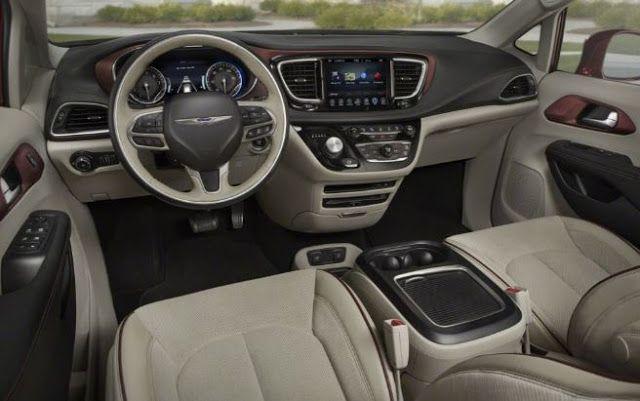 2018 Chrysler Pacifica Design Exterior Interior Performance