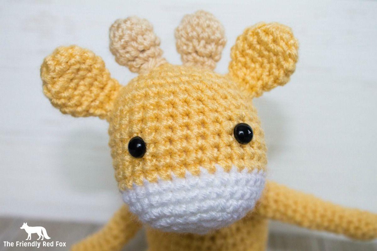 Free Crochet Pattern for The Friendly Mini Giraffe Part 2 | Giraffe ...