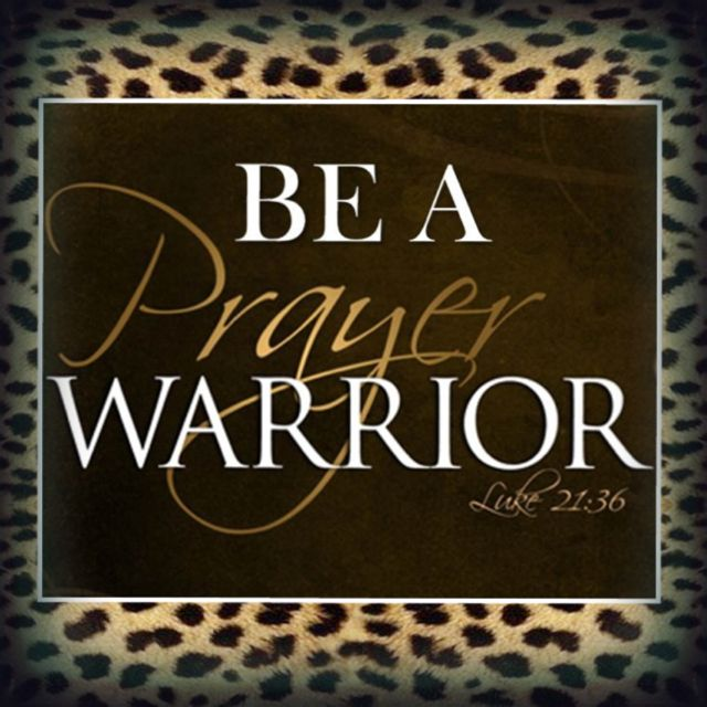 Be A Prayer Warrior... Woman And Men Of GOD Who Can Call