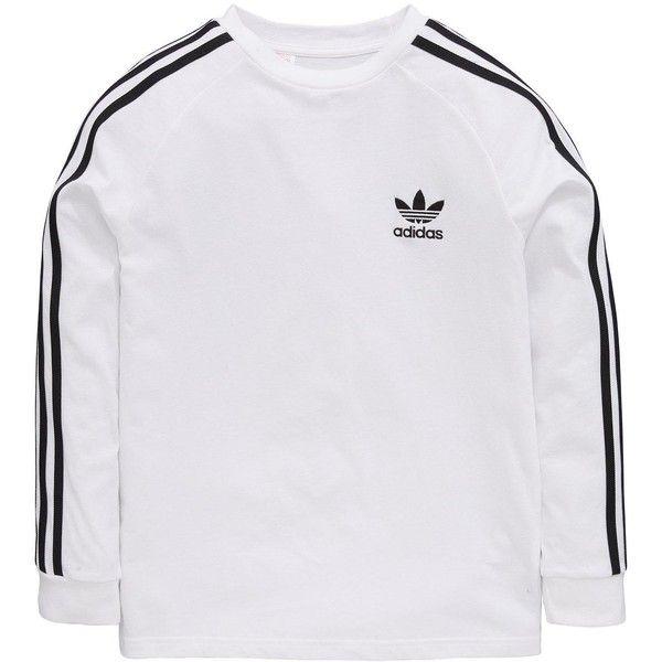 27bd8b1b8 Adidas Originals Adidas Originals Older Boy Long Sleeve California Tee (115  AED) ❤ liked