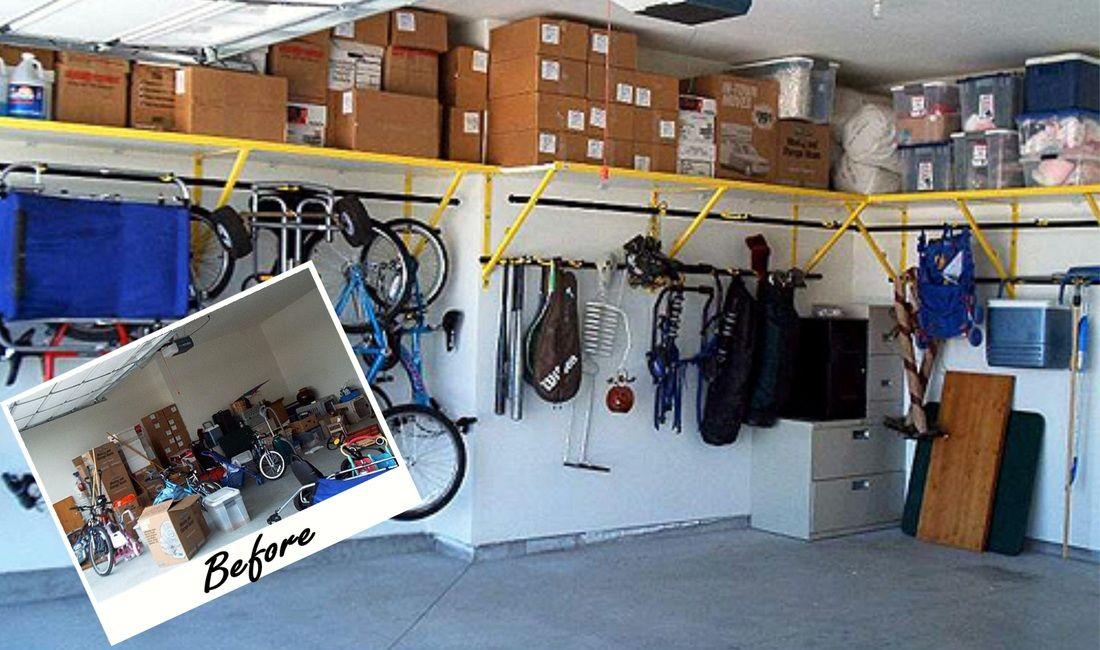 picture organisierte garage garagen regale garagenbau on cheap diy garage organization ideas to inspire you tips for clearing id=96158
