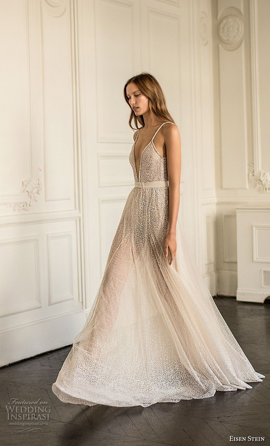 Eisen stein wedding dress u blush bridal collection romantic
