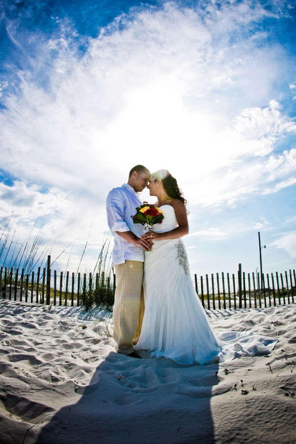 walking on sunshine Orange Beach Al wedding @RenaissancePortraits ...
