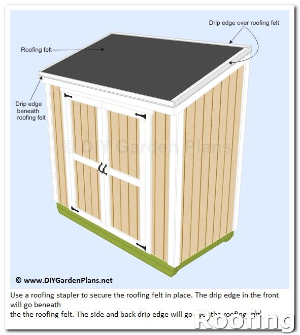Roofing How To When Signing A Contract With A Roofer Check For The Small Print About Material Costs And Labor D Shed Roof Felt Diy Shed Plans Shed Roof