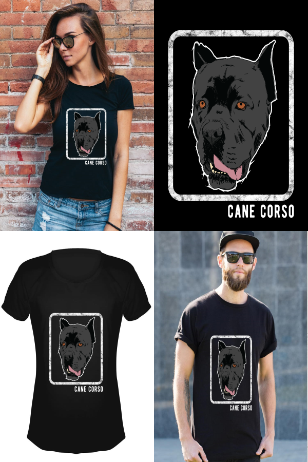 540805fc9 Shirt Designs · Cane Corso portrait the perfect design for men and women to  show how proud they are