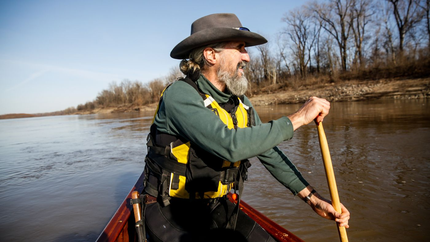 River Guide Wants People To Paddle The Mighty Mississippi