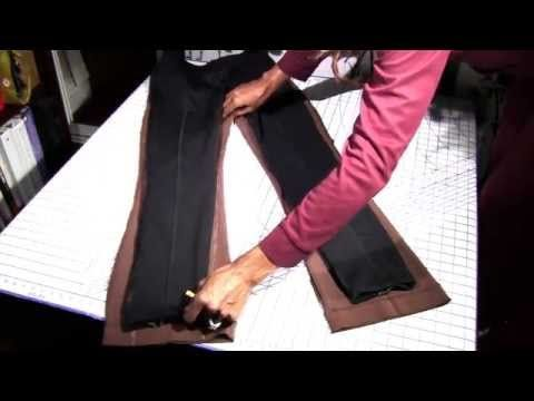 4766fdeb74 How to Alter Pants | Wide to Skinny Legs | Alterations - YouTube ...
