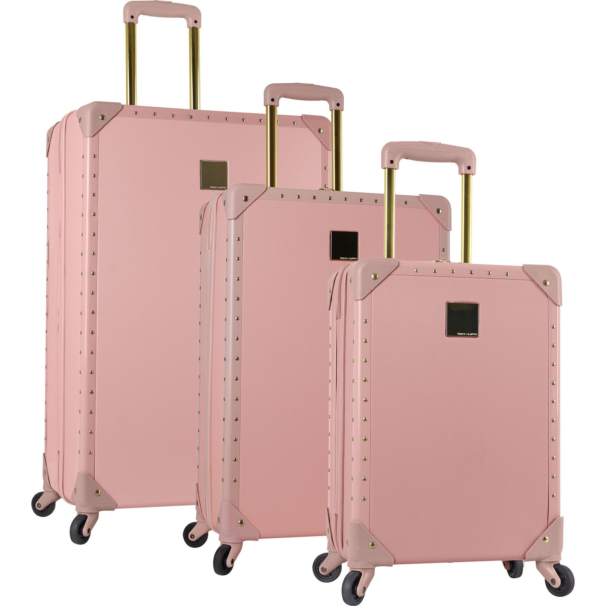 Vince Camuto Jania 3 Piece Hardside Spinner Luggage Set | Hardside ...