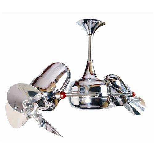 Ventilador De Teto Duplo Din 226 Mico 2 Motores Com H 233 Lices Em