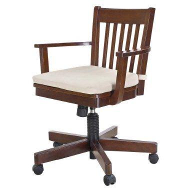 Avington Banker S Chair W Cushion Dark Tobacco Target Chair Bankers Chair Chair Cushions