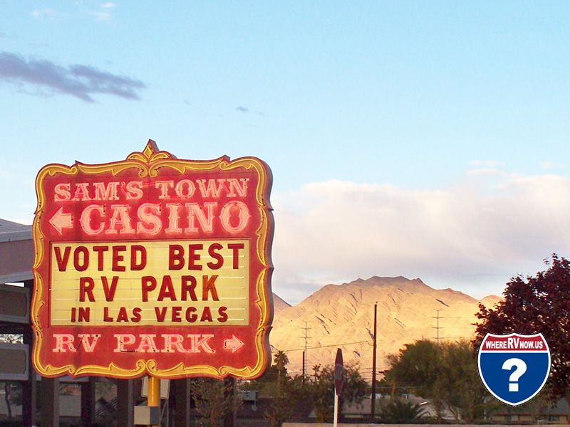 Sam S Town Rv Park Was Voted The Best Rv Park In Las Vegas