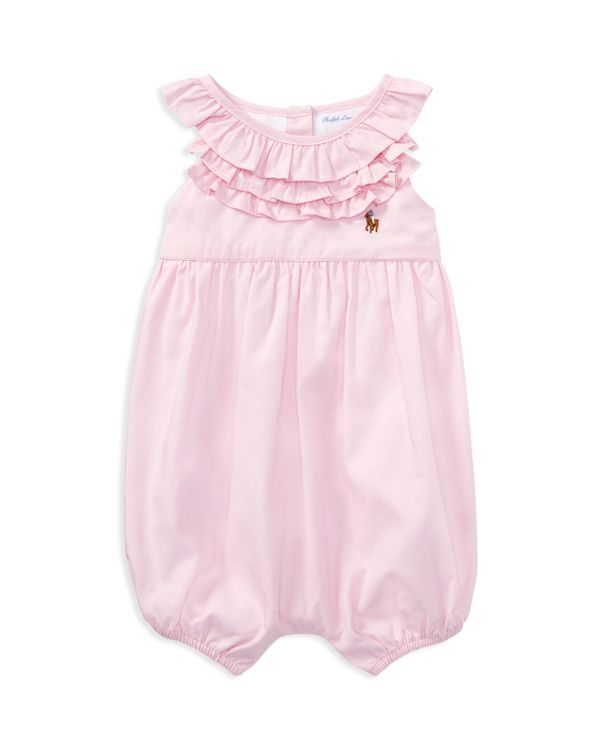 0040b8227e Ralph Lauren Childrenswear Girls  Oxford Ruffle Bubble - Baby ...