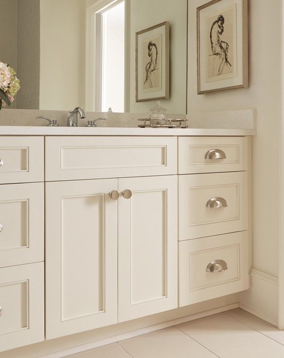 Glam Farmhouse, Ashby Collection Cup Pulls | Trend Alert: Glam Farmhouse Is  Comfort Chic | Pinterest | Hardware, Cabinet Hardware And Bath