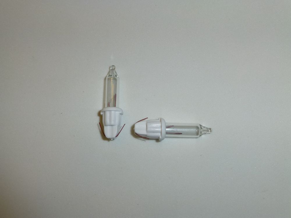 35 volt 100 clear replacement christmas mini light bulbs white base