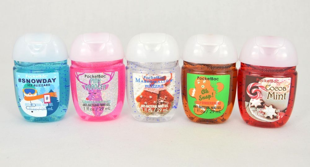 Sanitizer Gel Antibacterien Bath And Body Works Au Choix Pocketbac