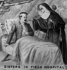 Image result for CSC sisters during the civil war