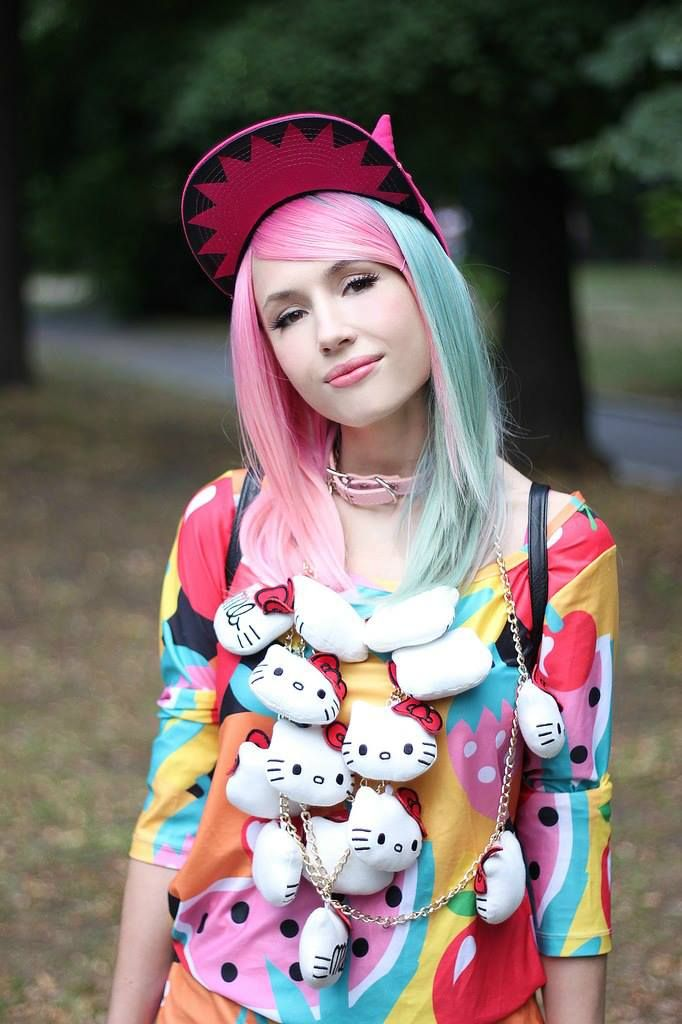 """Fruity hello kitty outfit("""",)!!"""