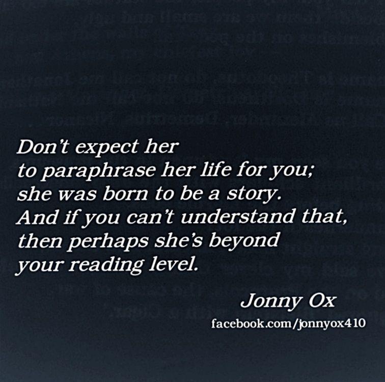 Facebook Com Jonnyox410 Jonny Ox Word Quote Me Quotes Quoting An Aurhor V Paraphrasing Author