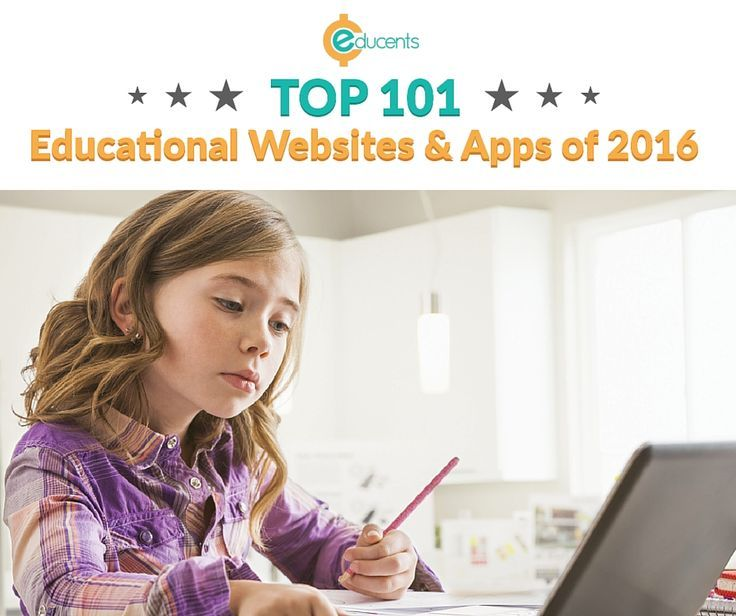 Turn screen time into learning time with list of 101 Best Educational  Websites & Apps!
