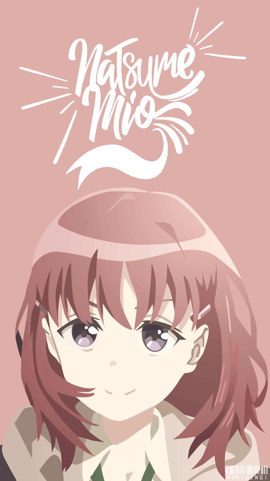 Natsume Mio Gadis Animasi Karakter Animasi Animasi