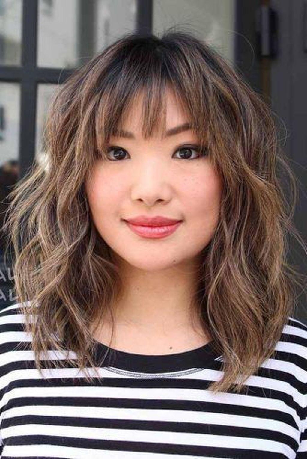 Nice 53 Totally Inspiring Long And Medium Hairstyle For Women Ideas. More  at http://trendwe… | Bangs with medium hair, Short hair with layers, Short  hair with bangs