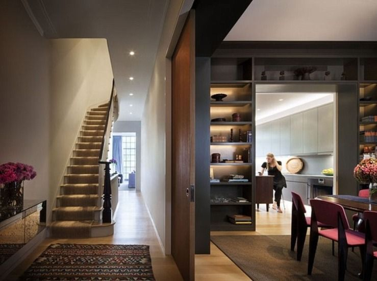 Stylish Townhouse With A Very Cozy Interior In New York | DigsDigs ...