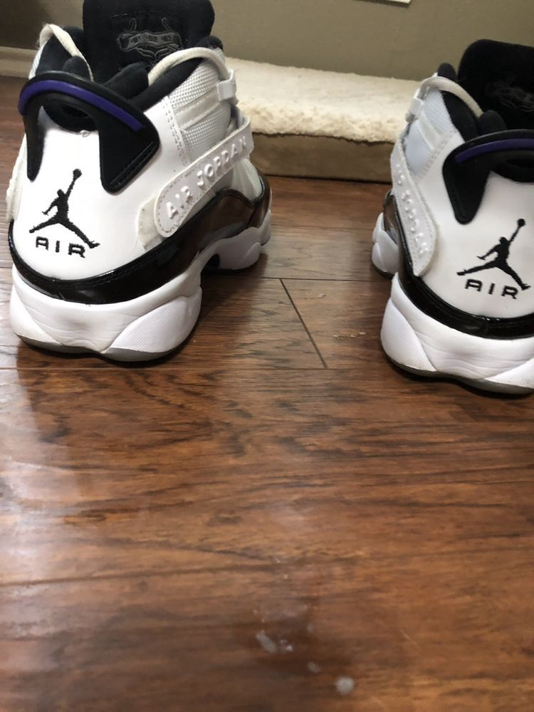 the latest a37ce 642ab Air Jordan 6 Rings Concord White Black Mens Basketball Shoes 322992-104  Size 9  fashion  clothing  shoes  accessories  mensshoes  athleticshoes  (ebay link)