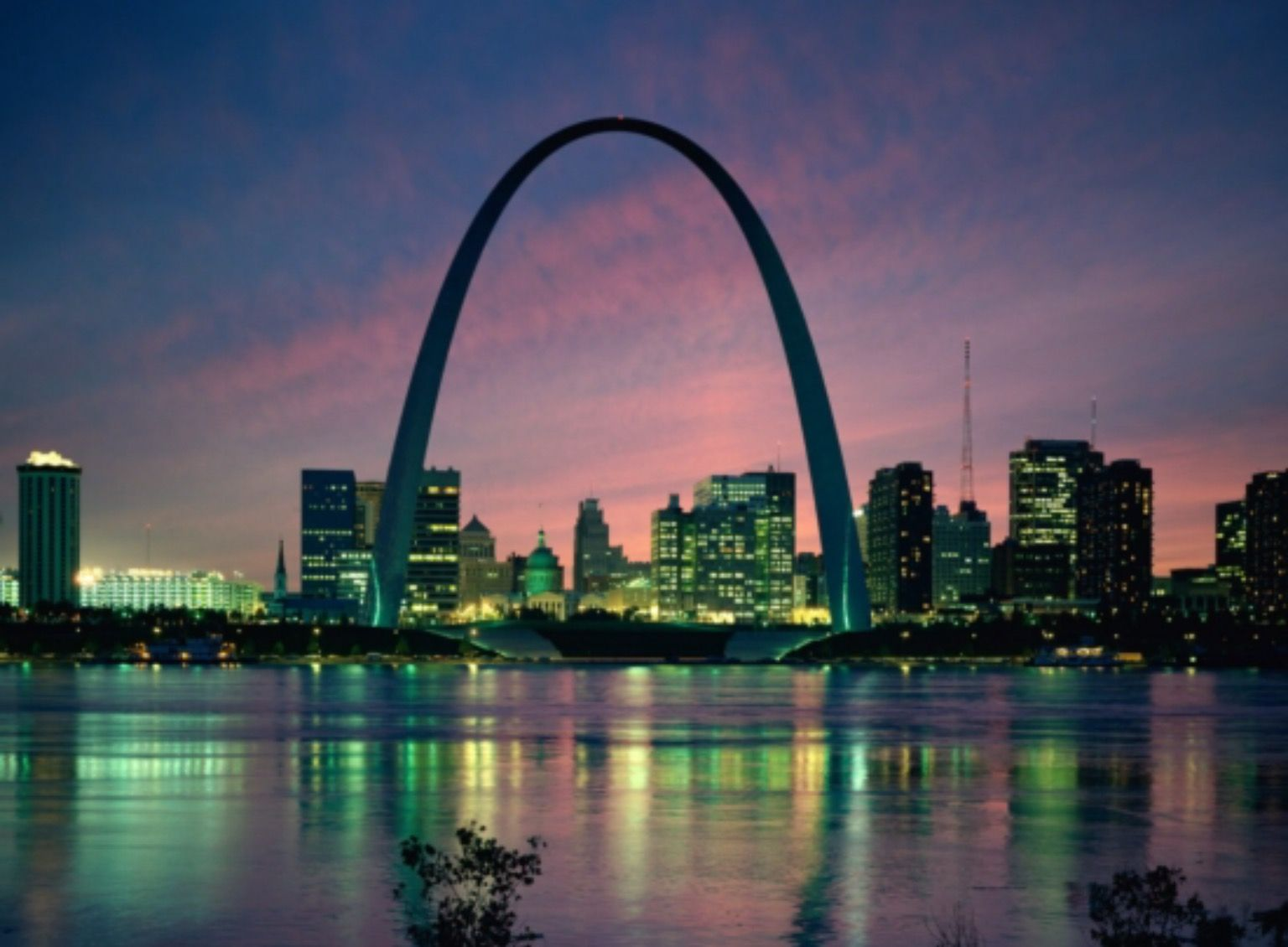 Pin by BB on Architecture Cityscape wallpaper, St louis