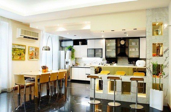 Foto cocina comedor juntos good ideas3 pinterest for Comedor y cocina en un mismo ambiente
