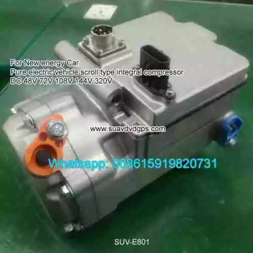 Other Engine Cooling Pure Electric scroll compressor 48V