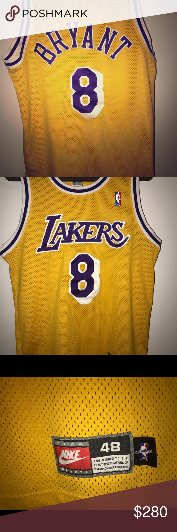 meet 34bdd a075b Nike Authentic NBA Throwback Lakers jersey Nike Authentic LA ...