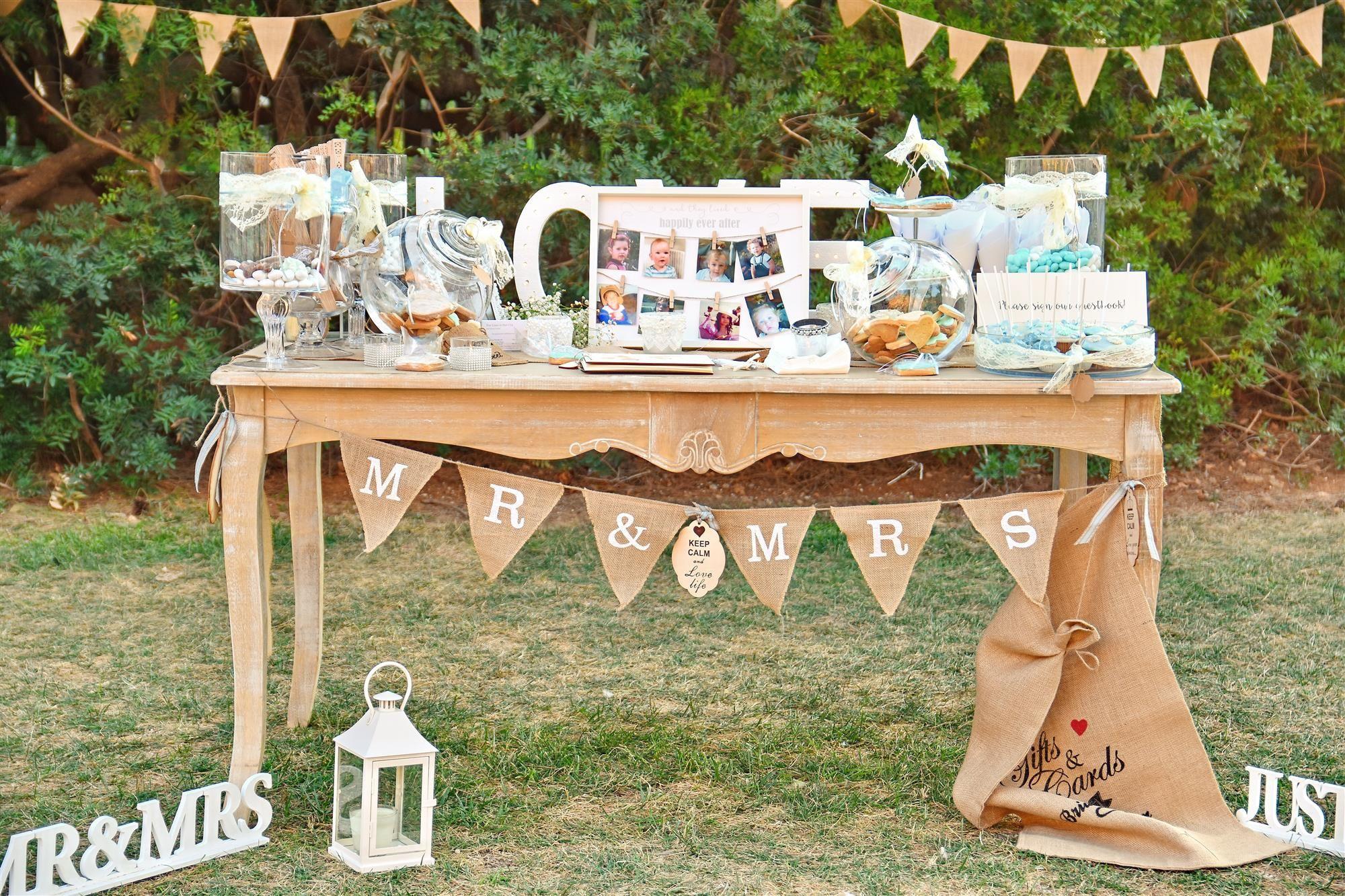 Wishing Table Candy Bar Handmade Wedding Decoration Greek Planner
