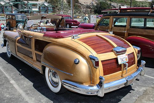1947 Chrysler Town Country Gold Rvl Chrysler Town And