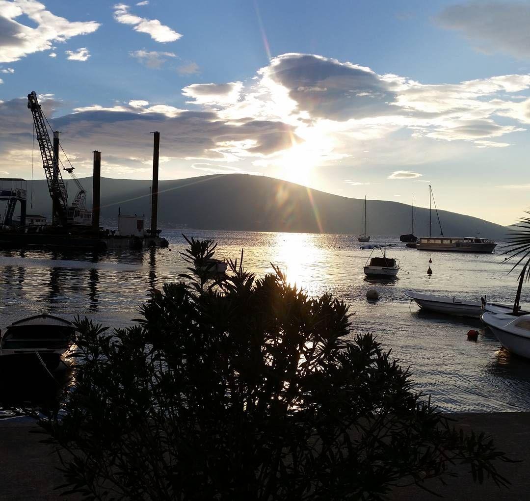 Tivat Marina Porto Montenegro #sunset #clouds #marina #portomontenegro #boats #insta_montenegro by insta_montenegro #Travel with us @ www. pifizone.com