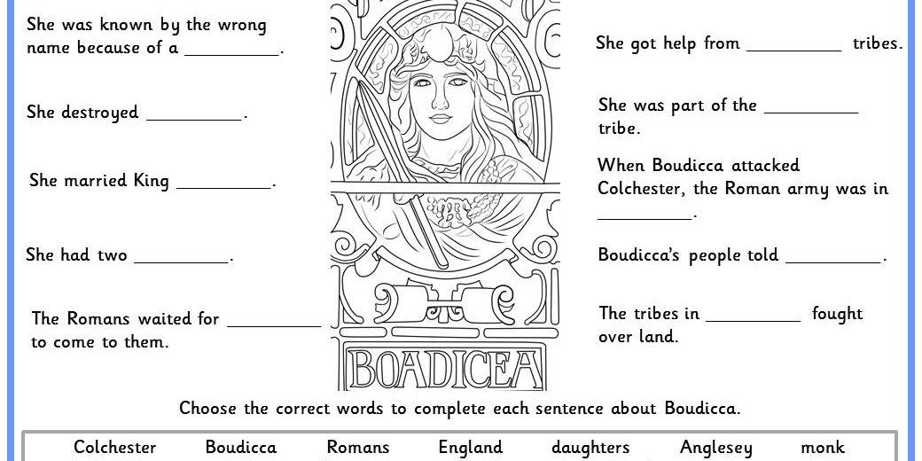 Facts about Boudicca. Try this with our Boudicca