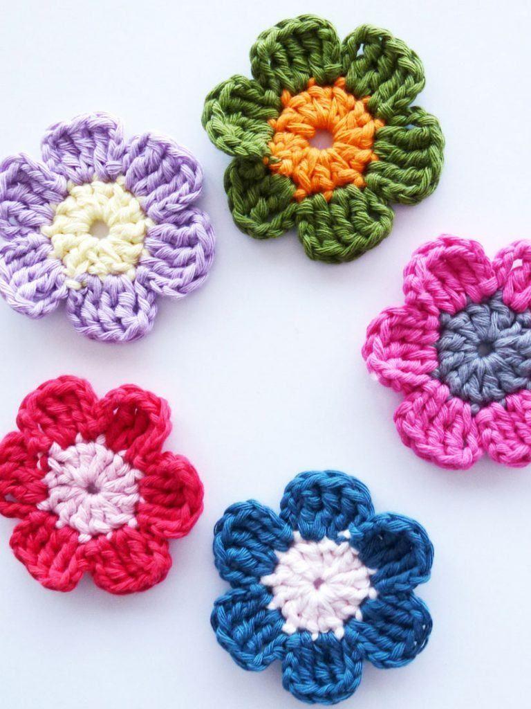 Flores de Crochê: 125 Modelos, Fotos e Passo a Passo | Crochet ...