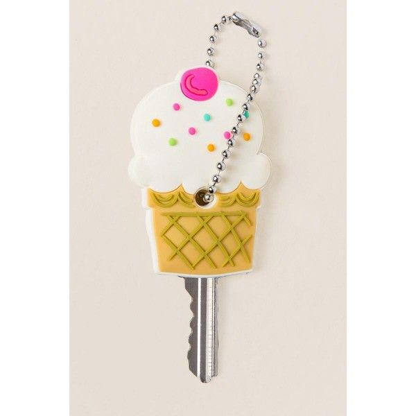 522538762d8 Ice Cream Key Cap ( 5.98) ❤ liked on Polyvore featuring accessories ...