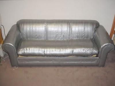 Duct Tape Couch Cover | Funny Stuff | Pinterest