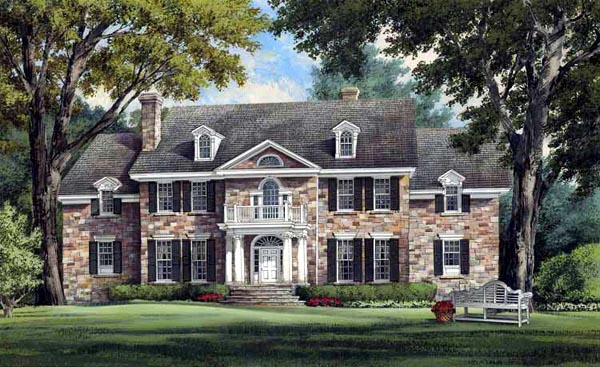 Southern Style House Plan 86213 With 4 Bed 6 Bath 3 Car