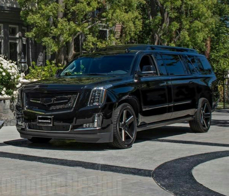 Dr. Dre's Custom Extended Cadillac Escalade ESV