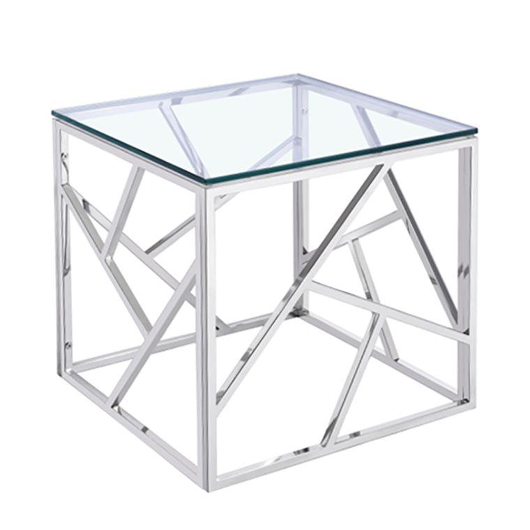 Beistelltisch Garmo Glas Stahl Jack And Alice Jetzt Bestellen Unter Https Moebel Ladendirekt De Wohnz Wohnzimmertische Couchtisch Design Beistelltische