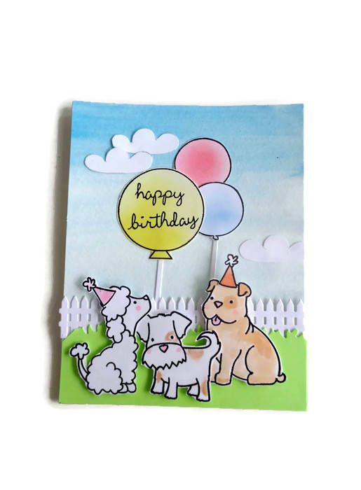 Happy Birthday Dog Party Card Youre Dog Done Awesome Just For U