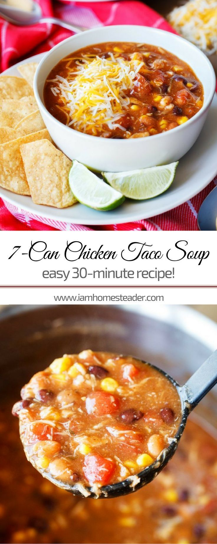 7 Can Chicken Taco Soup images