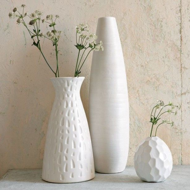Mooie Witte Vaasjes Vazen Decoreren Witte Vazen Decoraties