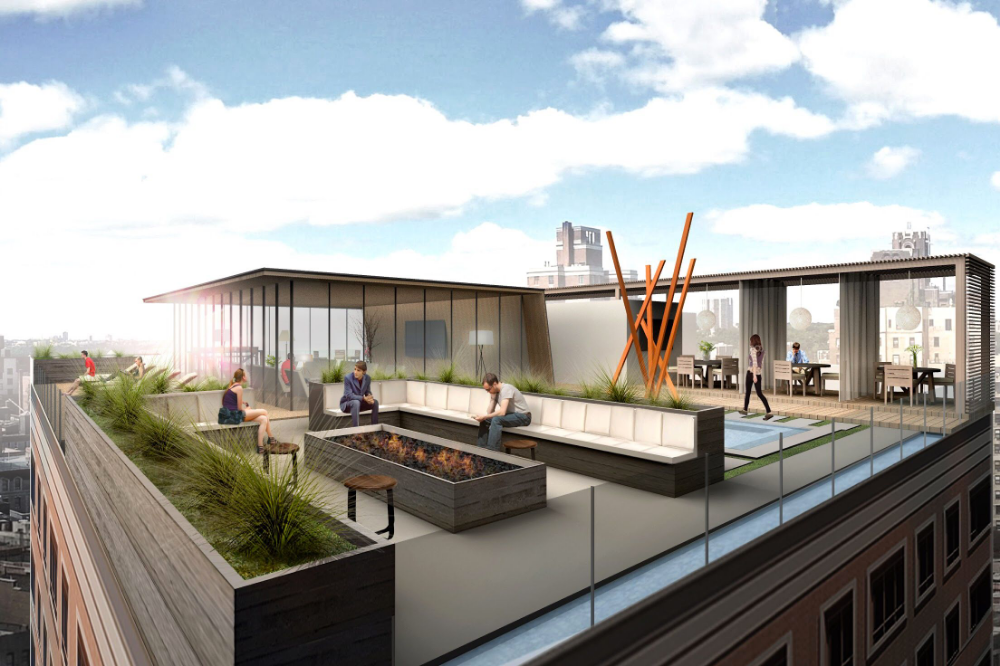 My Design For A Luxury Apartment Building Rooftop In Upper West Side Steemit Rooftop Terrace Design Apartment Rooftop Rooftop Design