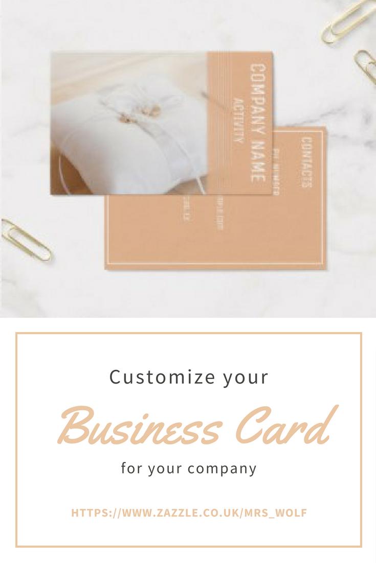 wedding planner business card  zazzlecouk  wedding