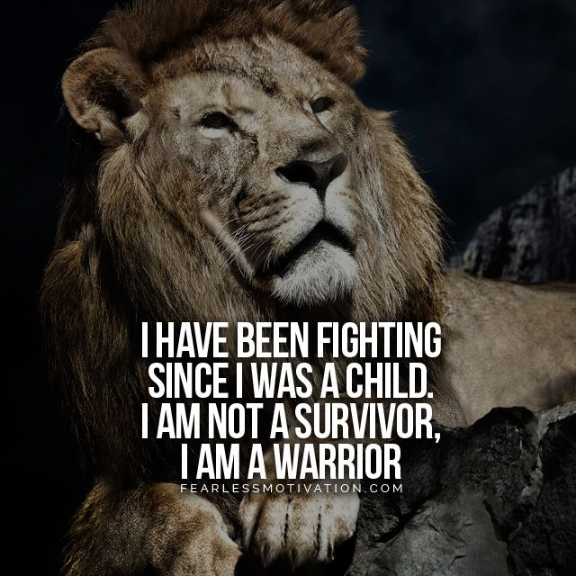 I Am Not A Survivor I Am A Warrior Motivational Video Quotes I