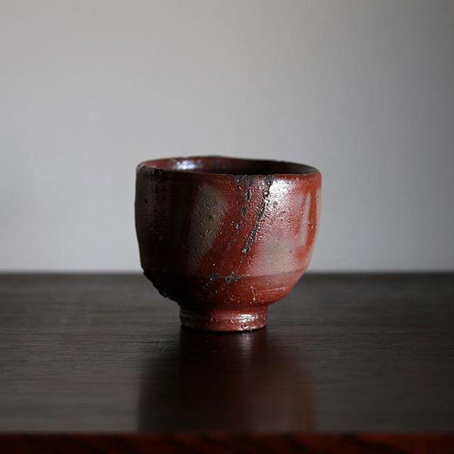 #hujiwarakei  #livingnationaltreasure  #bizenyaki  #sakecup  #modernism  #modernart  #modernismart  #midcenturymodern