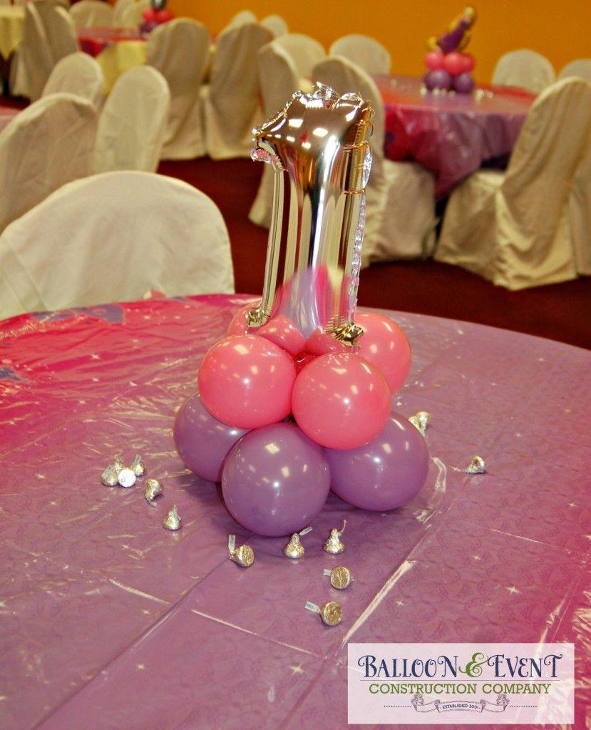 First Birthday Balloon Centerpiece First Birthday Balloons